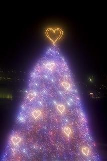 ハートのクリスマスツリー.JPG